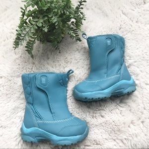 Lands End Toddler Blue Winter Boots